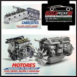 Motor completo, parcial, cabeçotes Volkswagem, fiat, ford, chevrolet, hyundai, honda