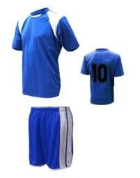 Jogo De Uniforme 20 Camisas + 20 Calções Pronta Entrega