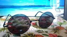Óculos de sol retro