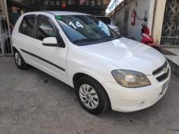 Celta LT Branco 13/2014 Com Airbag e ABS