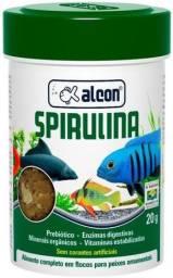 Ração alcon spirulina 20g