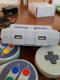 Supernintendo classic mini radpberry pi3 c/7000 jogos
