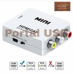 Converte HDMI x RCA (AV)