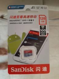 Cartão de memória 128 GB