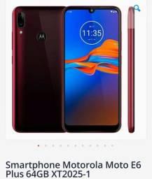 Moto E 6 plus novo na caixa