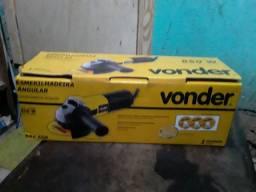 Esmirilhadeira Angular Vonder 650 W (LEIAM A DESCRIÇÃO)!!
