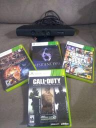 Kinect + Jogos de Xbox 360