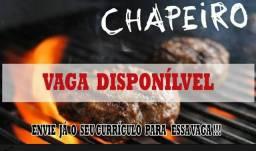 VAGA PARA CHAPEIRO COM EXPERIÊNCIA COMPROVADA