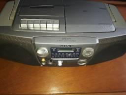 Rádio CD cassete Sony