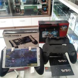Kit Gatilho L1 + R1 Pubg Celular Mira Jogo Android Ios + Suporte