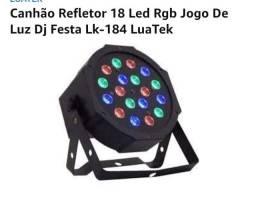 Canhão LED de festa