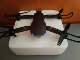 Drone Wifi Gd89 720P Com Bolsa de Transporte Novo