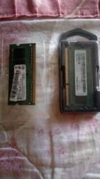 Duas memorias ram ddr3 4GB 1600Mhz as 2 por 250