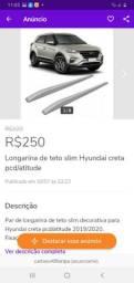 Longarina teto slim Hyundai creta pcd atitude 17/20