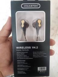 Fone via Bluetooth 5 horas de uso