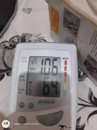 Dois medidor de pressão arterial digital automático de braço
