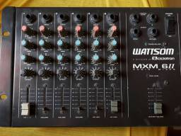 Mesa de som Watisom MXM 6II Áudio Mixer