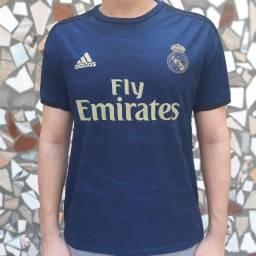 Camisa II Real Madrid 19/20 Azul