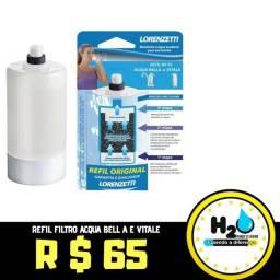Refil filtro Acqua Bella e Vitale
