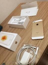 Vendo ou troco iPhone SE 64GB