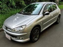 Peugeot 206 1.4 8v flex - completo - 2020 pago!