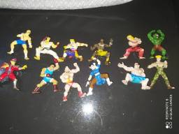 Miniaturas Antigas raras Street Fighter Completa