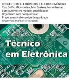 Técnico em eletrónica