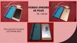 Vendo iphone 6s Plus dourado