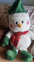 Boneco de neve de Pelúcia