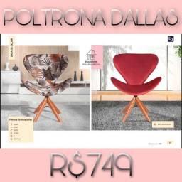 Título do anúncio: Poltrona dallas/poltrona dallas /poltrona dallas-937383