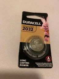 Pilha Duracell 2032
