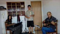 Canto, Flauta, Violão e Teclado online e presencial