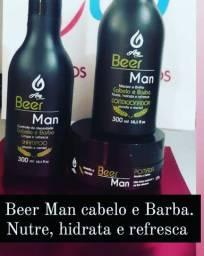 Kit Beer Man 3 Produtos (cabelo e Barba)