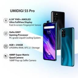 Smartphone Umidigi S5 Pro 256GB Memoria e 6GB Ram Tela de Amoled - Versão Global