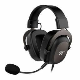 Headset Gamer Havit H2002d Preto<br>