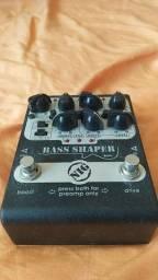 Pedal para Baixo e Contrabaixo Bass Shaper - BSH Nig