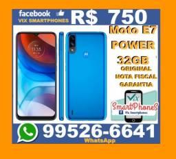 -P-R-O-M-O-Ç-Ã-O- Moto E7 Power 32GB