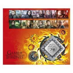 Medalha Game Of Thrones House Targaryen Edição Limitada