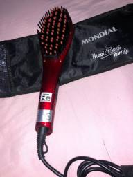 Escova Alisadora Digital Mondial Magic Brush