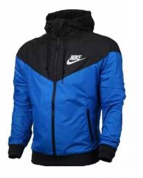 Corta Vento Nike Azul Masculina Impermeável Lançamento