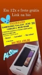 Samsung Galaxy A32 5G 128GB novo! Lacrado! Com garantia