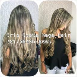 Mega Hair Especialista em cabelos Finos
