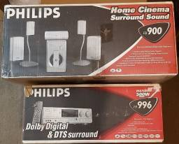 Home Theater Philips FR 996 - Match Line (Raridade)