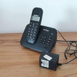Telefone sem fio com secretaria