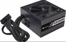 Fonte Atx 550w - Cx550m Semi Modular - 80 Plus Gold