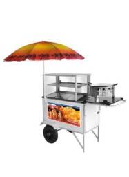 carrinho de salgados street food fritador Armon CSR034