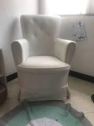 Poltrona amamentação/ cadeira de balanço