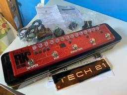 Pedal Guitarra RK5 v.2 Tech 21 Sansamp Signature Richie Kotzen