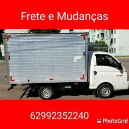 Mudança Frete caminhão baú HR para todo Brasil.