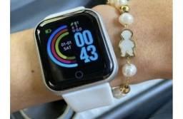 Relógio Smart Watch Inteligente D20 Branco